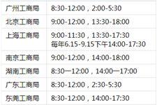 工商所上班時間,工商局上班時間表