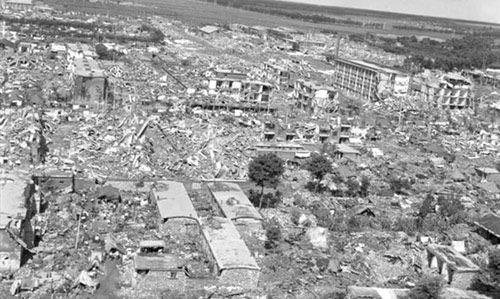 唐山大地震是幾級地震?