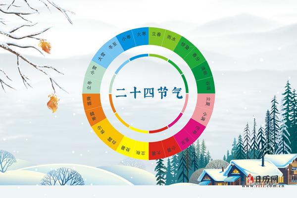 2020年节气时间表【带农历】