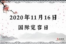 2020年11月16日是什么日子