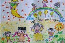 六一儿童节的画,儿童画画大全简单漂亮